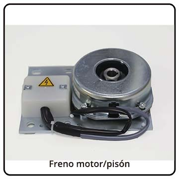 Freno motor / pisón máquinas IDEAL
