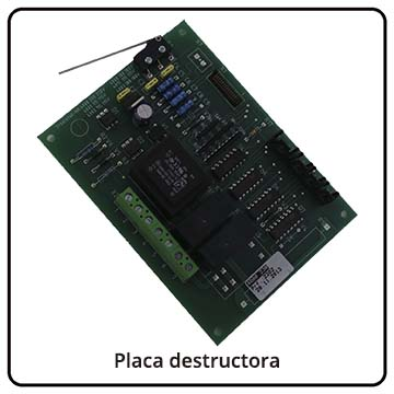 Placa destructora IDEAL