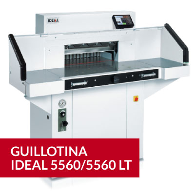 Guillotina Ideal 5560/5560 LT