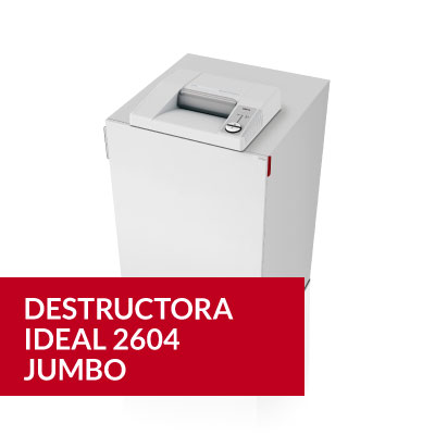 Destructora Ideal 2604 JUMBO