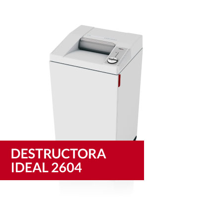 Destructora Ideal 2604